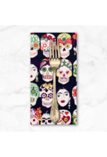 PD's Alexander Henry Collection Folklorico, Gotas de Amor in Eggplant, Dinner Napkin