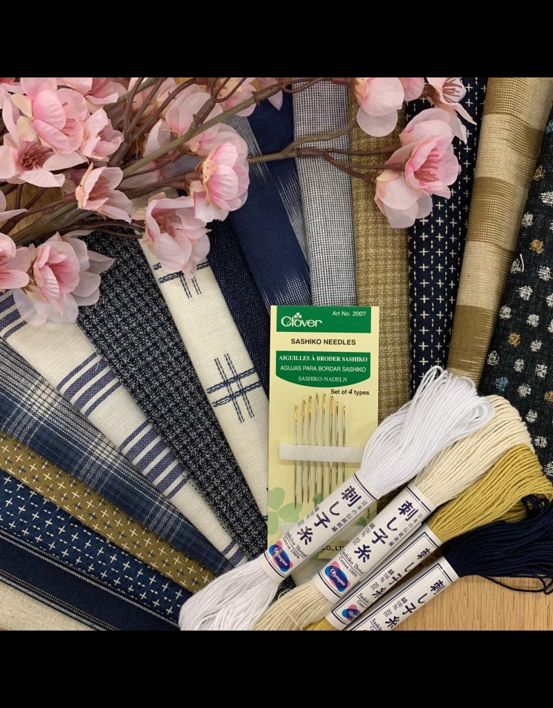 Picking Daisies Sashiko Mending Matters Gift Set