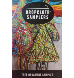 Dropcloth Samplers Christmas Tree Ornament Embroidery Sampler from Dropcloth Samplers