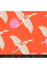 PD's Ruby Star Society Collection Ruby Star Society, Florida, Egrets in Fire, Dinner Napkin