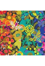 Alison Glass Art Theory, Overall in Night, Fabric Half-Yards A-9698-C