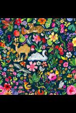 August Wren Tree of Life, Garden of Life in Multi, Fabric Half-Yards STELLA-DJL1750