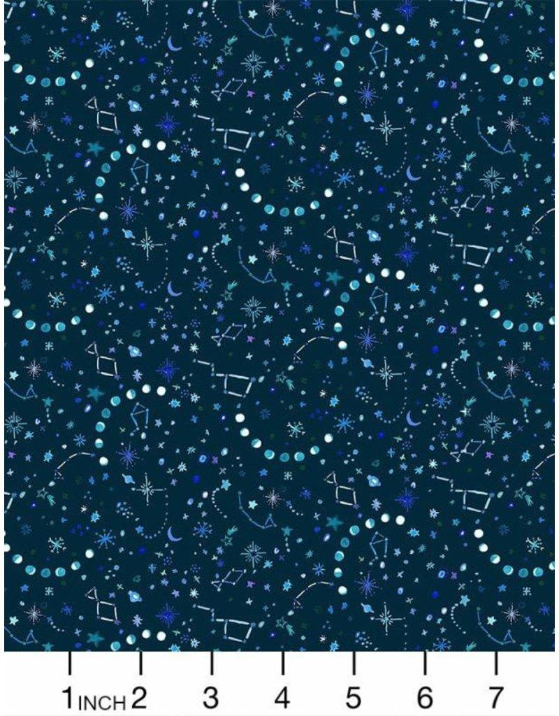PD's August Wren Collection Tree of Life, Night Sky in Dark, Dinner Napkin
