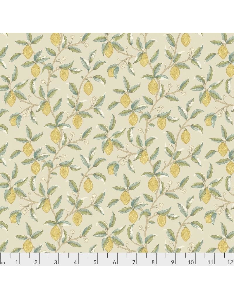 PD's William Morris Collection Orkney, Lemon Tree in Linen, Dinner Napkin