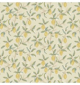 William Morris & Co. Orkney, Lemon Tree in Linen, Fabric Half-Yards PWWM047