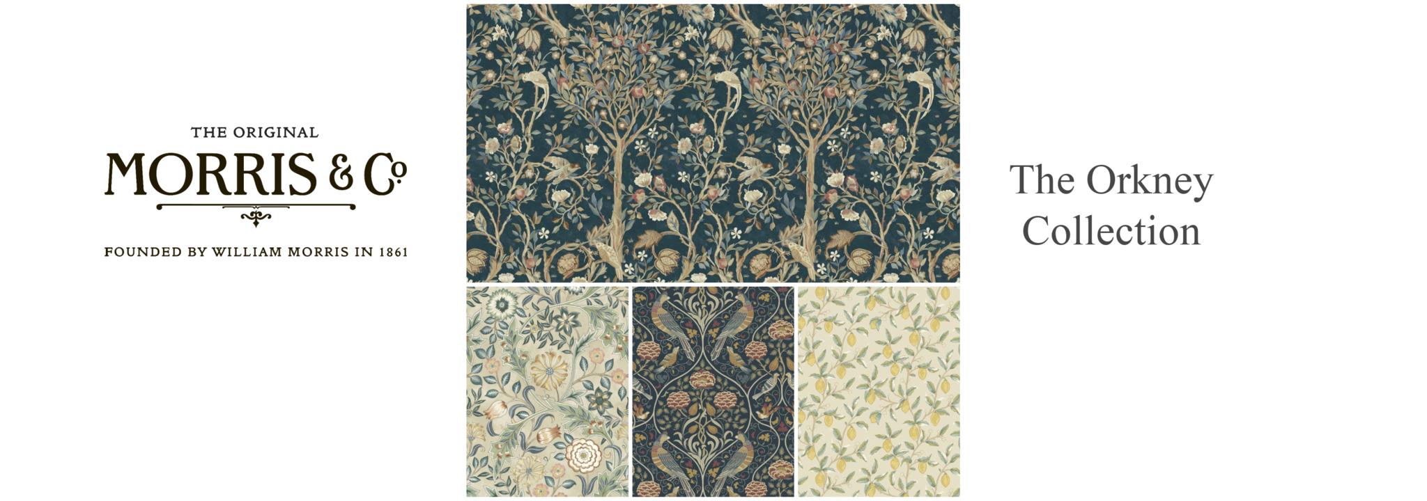 Orkney by William Morris & Co.