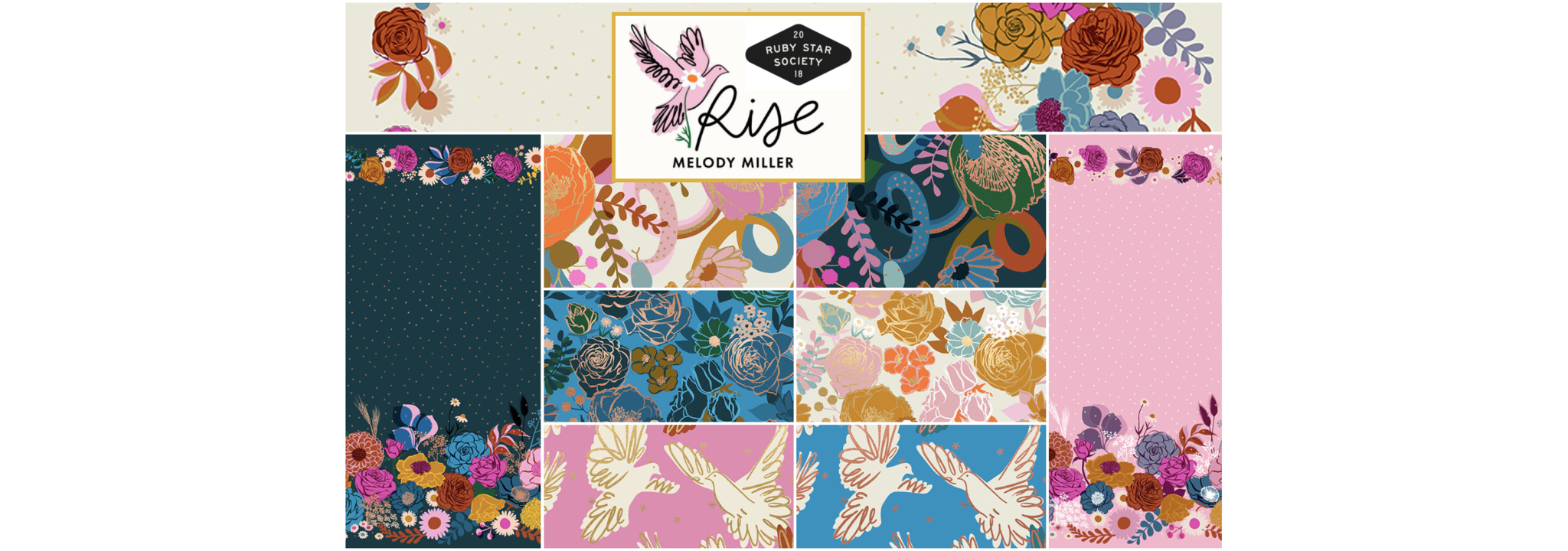Rise by Melody Miller for Ruby Star Society