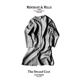 "Merchant & Mills ON SALE 50% OFF - Merchant & Mills ""The Strand Coat"" Paper Pattern"