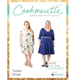 "Cashmerette Cashmerette ""Turner Dress"" Paper Pattern"