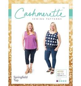 """Cashmerette Cashmerette """"Springfield Top"""" Paper Pattern"""