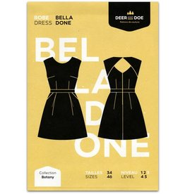 Deer and Doe Deer and Doe Belladone Dress Pattern