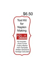 Picking Daisies Essential Tool Kit for Napkin Making