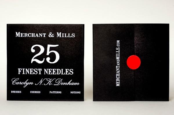 Merchant & Mills Merchant & Mills, Finest Sewing Needles, 25ct.