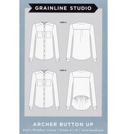 Grainline Studio Grainline's Archer Button Up Pattern