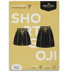 Deer and Doe ON SALE 50% OFF - Deer and Doe Goji Shorts/Skirt Pattern