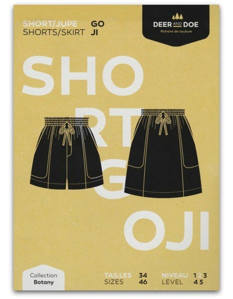 Deer and Doe ON SALE 50% OFF - Deer and Doe Goji Shorts/Skirt Pattern