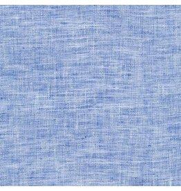Robert Kaufman Limerick Linen in Navy, Fabric Half-Yards