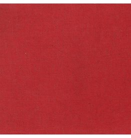 Moda Linen Mochi Solid in Red, Fabric Half-Yards