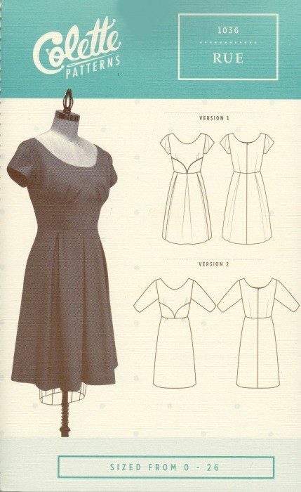 Colette Patterns ON SALE 50% OFF - Colette's Rue - 1036 Pattern