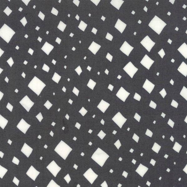 Gingiber Savannah, Diamonds in Charcoal, Fabric Half-Yards