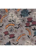 Alexander Henry Fabrics Haunted House, Belinda's Herbs in Smoke, Fabric Half-Yards