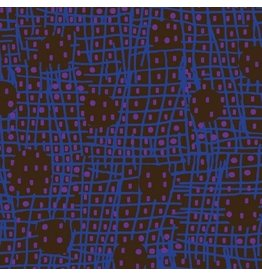 Victoria Findlay Wolfe ON SALE-Futurum, Shift in Dark, Fabric Half-Yards