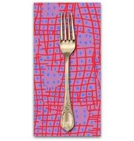 PD's Marcus Fabrics Collection Futurum, Shift in Magenta, Dinner Napkin