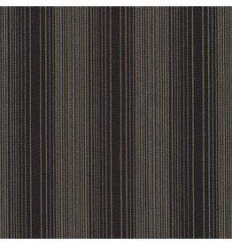 Jennifer Sampou Shimmer On Yarn Dyed, Stripes in Charcoal AJSM-17066-184, Fabric Half-Yards