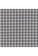 Jennifer Sampou Shimmer On Yarn Dyed, Plaid in Charcoal, Fabric Half Yards,  AJSM-17068-184