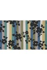PD's Alexander Henry Collection A Ghastlie Stripe in Potion Blue, Dinner Napkin
