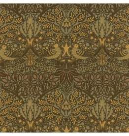 William Morris & Co. William Morris 2017, Dove and Rose in Sepia, Fabric Half-Yards 7301 13