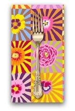PD's Kaffe Fassett Collection Kaffe Collective, Sunburst in Bright, Dinner Napkin