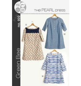 Green Bee Patterns Green Bee's Pearl Shift Dress Pattern