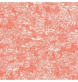 Carolyn Friedlander Rayon Lawn, Lucinda in Persimmon, Fabric Half-Yards AFRX-17366-332