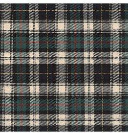 Robert Kaufman Sevenberry Classic Plaid Twill, Hunter, Fabric Half-Yards SB-13110D7-29