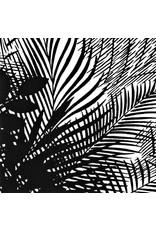 PD's Alexander Henry Collection Rio, Boca Raton in Black, Dinner Napkin