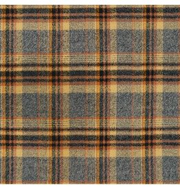 Robert Kaufman Yarn Dyed Cotton Flannel, Mammoth Flannel in Maize, Fabric Half-Yards