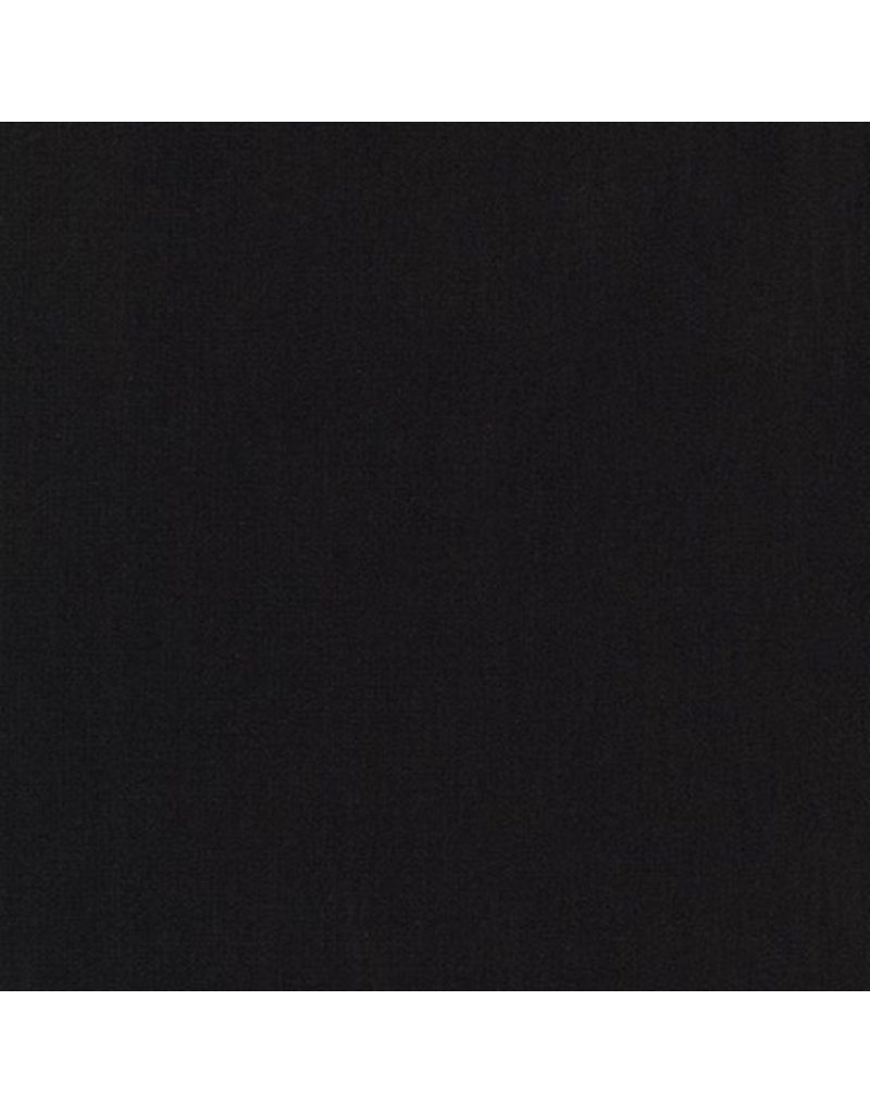 Robert Kaufman Jersey Knit, Arietta Ponte de Roma in Black, Fabric Half-Yards A165-1019