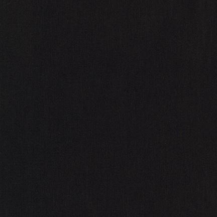 Robert Kaufman Jersey Knit, Arietta Ponte de Roma in Black, Fabric Half-Yards A165-1019