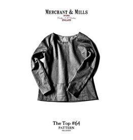 "Merchant & Mills Merchant & Mills ""The Top #64"" Paper Pattern"