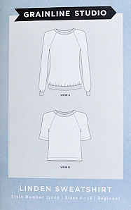 Grainline Studio Grainline's The Linden Sweatshirt Pattern