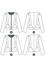 ON SALE-Sewaholic's Cordova Jacket - 1205 Pattern - 50% off regular price of $19.98