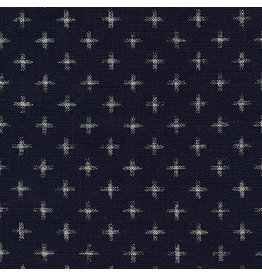 Sevenberry Nara Homespun, Plus in Indigo, Fabric Half-Yards SB-88223D23-62