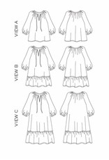 True x Bias True x Bias Roscoe Dress/Blouse -  Pattern