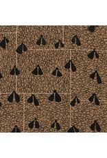 Carolyn Friedlander ON SALE-Gleaned, Wings in Brown, Fabric Half-Yards AFR-17290-16