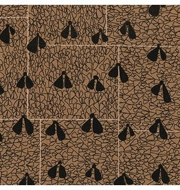 Carolyn Friedlander Gleaned, Wings in Brown, Fabric Half-Yards AFR-17290-16