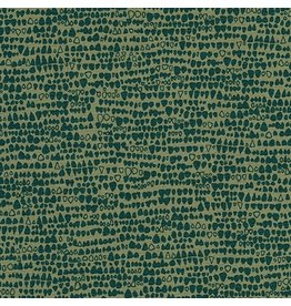 Carolyn Friedlander Gleaned, Reptile in Holly, Fabric Half-Yards AFR-17291-240