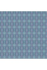 Amy Butler ON SALE-Night Music, Temple Tiles in Mist, Fabric Half-Yards CPAB013