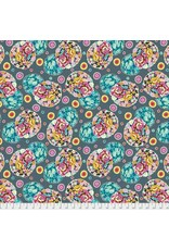 Amy Butler ON SALE-Night Music, Cloud Blossom in Heather, Fabric Half-Yards CPAB007