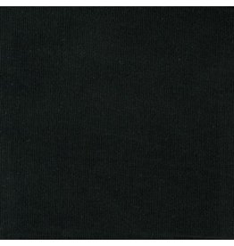 Robert Kaufman Corduroy 21 Wale in Black, Fabric Half-Yards C142-1019